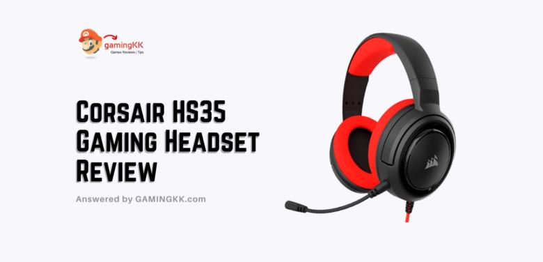 Corsair HS35 Gaming Headset Review