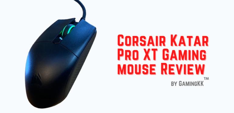 Corsair Katar Pro XT Gaming Mouse Review
