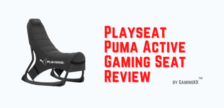 Playseat Puma Active Gaming Seat Review