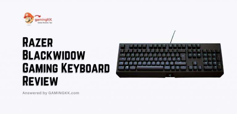 Razer Blackwidow Mechanical Gaming Keyboard Review