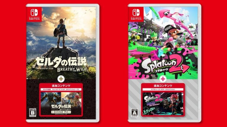 Zelda: Breath Of The Wild And Splatoon 2 Will Get New Physical Releases With DLC Included In Japan