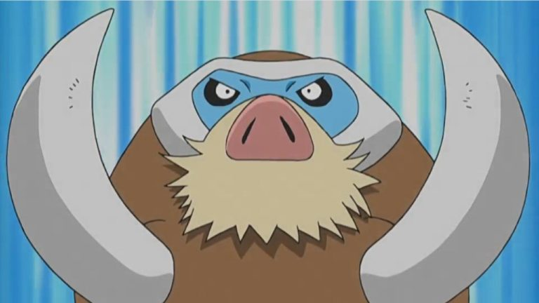 Mamoswine Joins Pokémon Unite Next Week On September 29