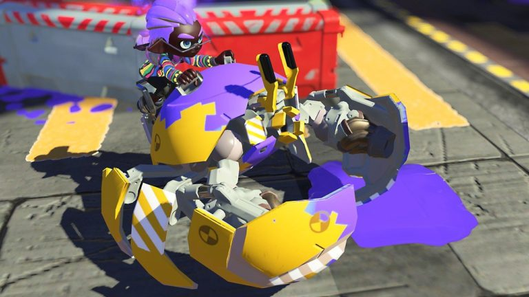 Nintendo Shows Off Splatoon 3's 'Eeltail Alley' And That Awesome Crab Tank