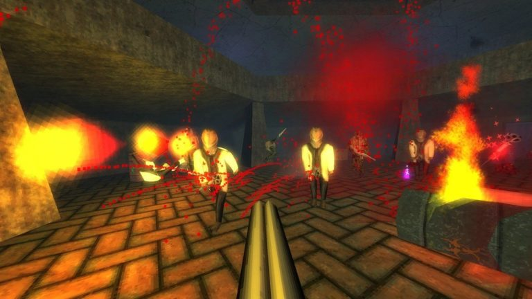 The Horrifying '90s-Style FPS Dusk Launches On Switch This Halloween