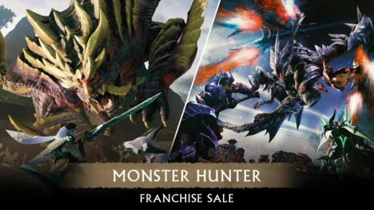 Nintendo's Monster Hunter Sale Discounts Five Games And Lots Of Rise DLC