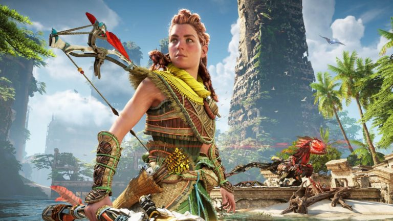 Horizon Forbidden West's Aloy Is Ridiculously Detailed On PS5