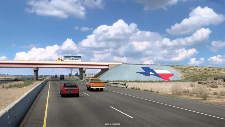 Here's a fresh look at American Truck Simulator's Texas DLC