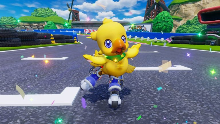Chocobo GP is a kart racer coming to Switch that can support up to 64-players