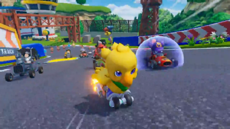 Chocobo GP is coming to the Nintendo Switch in 2022