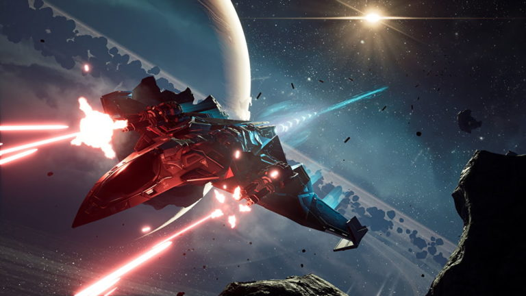 Chorus is an exhilarating space combat shooter with a rhythm all its own