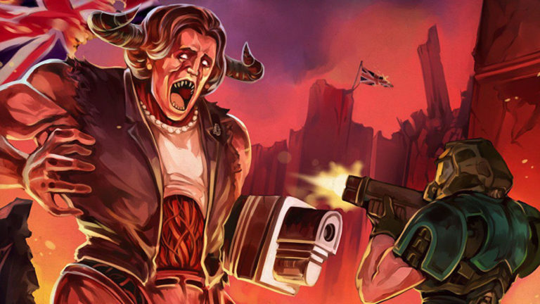 Send Thatcher back to Hell in a new Doom 2 mod today