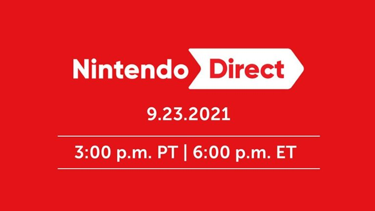 Watch today's Nintendo Direct here