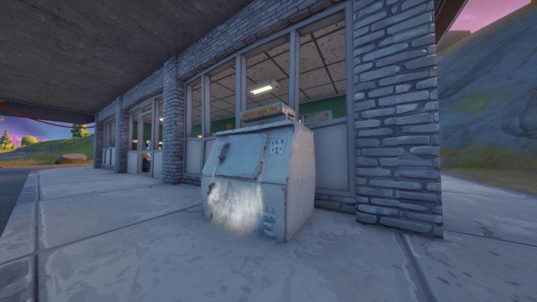 Where to search a Fortnite ice machine