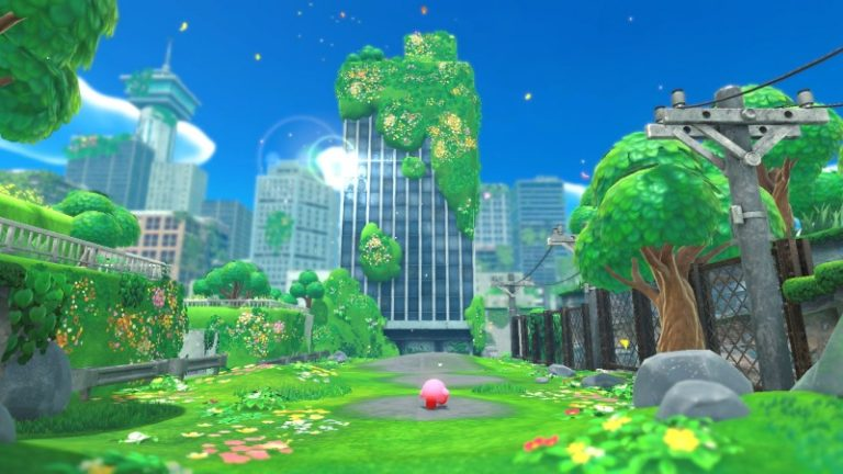 Kirby And The Forgotten Land Might Be The Cutest Post-Apocalypse Ever