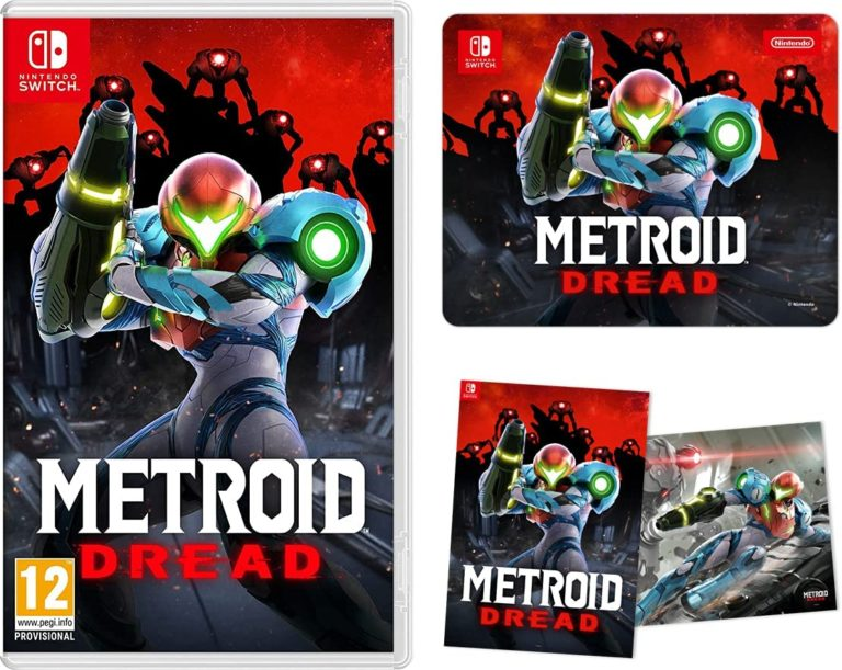 Amazon UK reveals Metroid Dread pre-order bonuses