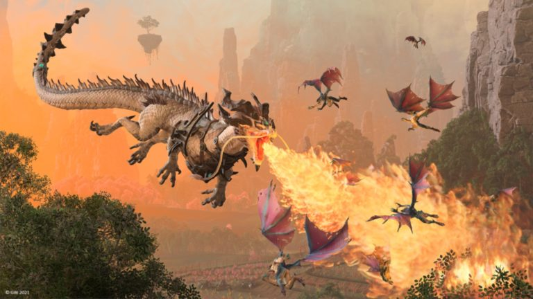 Total Warhammer 3 reveals Cathay's launch lords: a pair of dragon demi-gods