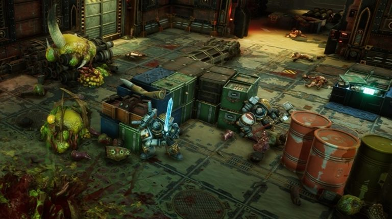 I'm getting an XCOM vibe from Warhammer 40,000: Chaos Gate
