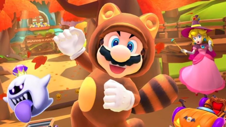 Mario Kart Tour Adds Tanooki Mario And The Super Leaf In Its Next Update