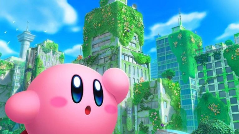 Here's Your First Look At The Switch Box Art For Kirby And The Forgotten Land