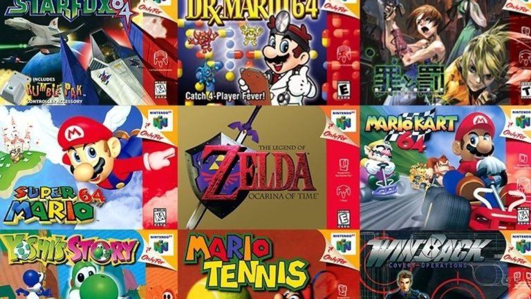 Nintendo Switch Online N64 games will all be 60Hz, English language versions • Eurogamer.net