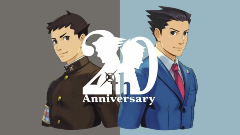 Capcom Launches Ace Attorney 20th Anniversary Website