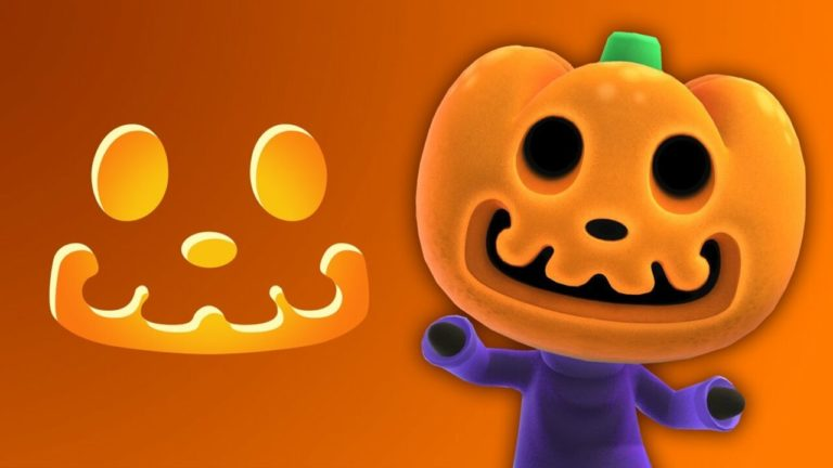 Want A Pumpkin Like Animal Crossing's Jack? Here's A Free Stencil To Use This Halloween