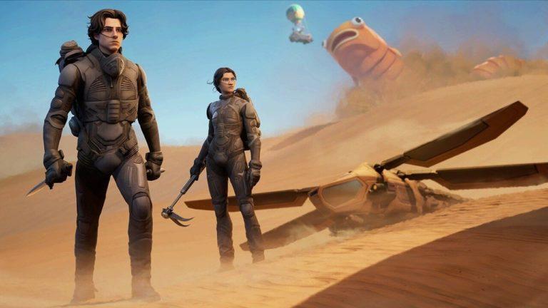 Looks Like Dune's Coming To Fortnite