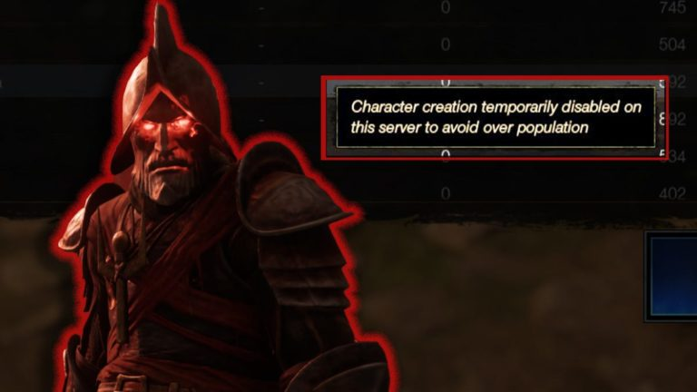 Full New World Servers Are Blocking New Users From Joining