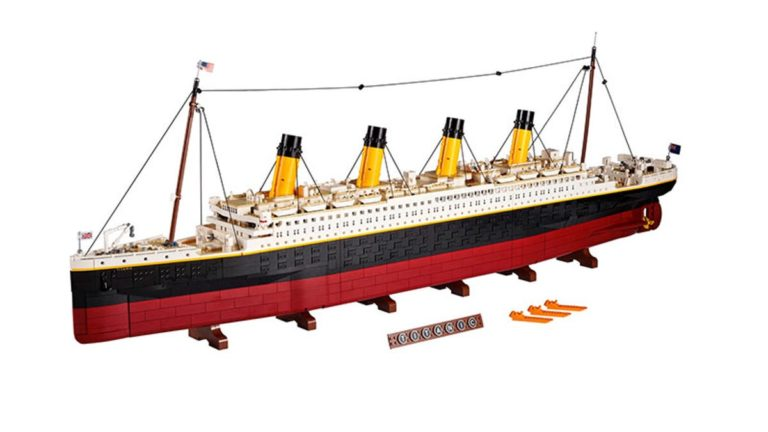 LEGO's Biggest Ever Set Is The Brand New 9090-Piece Titanic