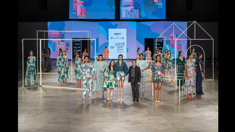 Logitech teams up with designers Pankaj and Nidhi for the FDCI x Lakmé fashion week