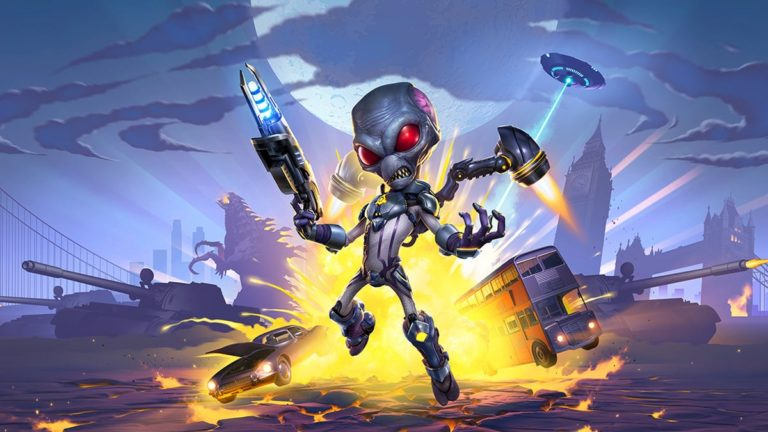 Destroy All Humans! 2 Remake Skipping Switch,PS4