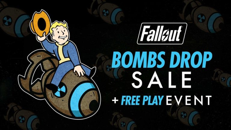 Fallout 76's Bombs Drop Event Brings Spooky Scorched, Sales, and Free Play Week