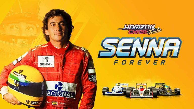 Relive Senna's Challenges and Victories in Horizon Chase Turbo: Senna Forever