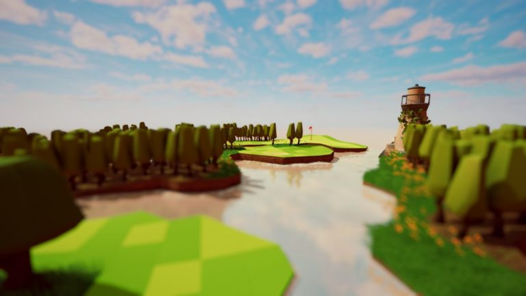 A Little Golf Journey is the chillest golf game you'll play all year.