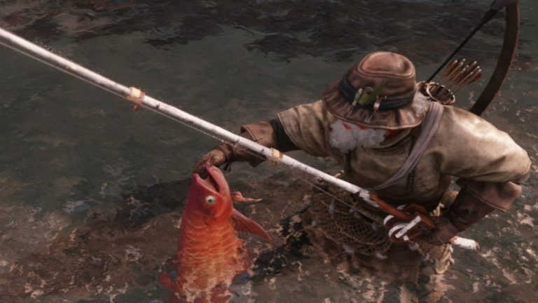 I'm completely hooked on New World's fishing and crafting