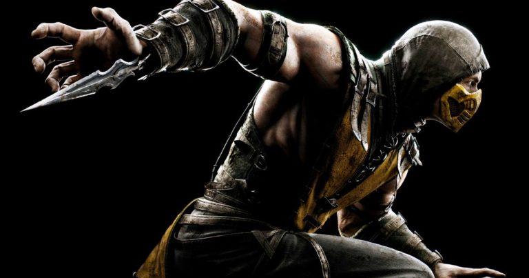 Scorpion's 'get over here' Mortal Kombat move was invented on the fly