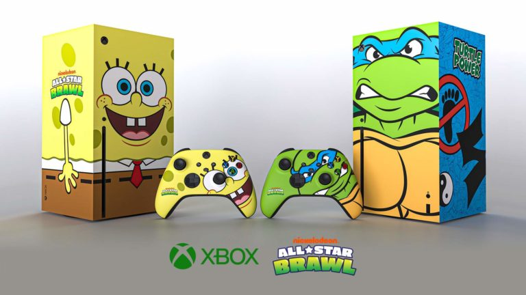 Xbox Reveals Xbox Series X Consoles Celebrating Nickelodeon All-Star Brawl