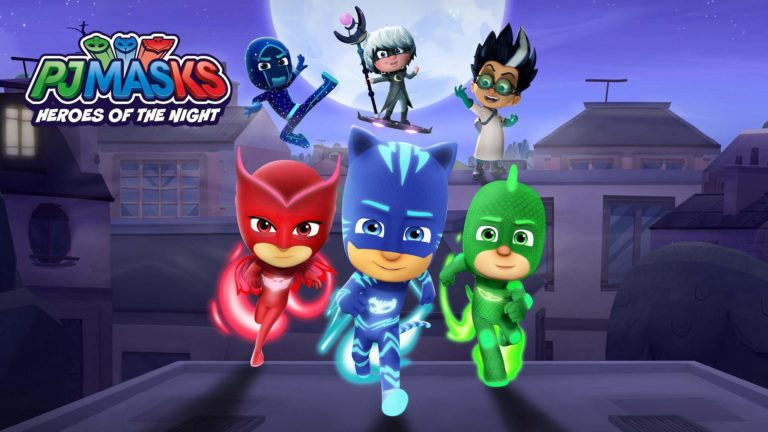 PJ Masks: Heroes Of The Night Is Now Available For Digital Pre-order And Pre-download On Xbox One And Xbox Series X S