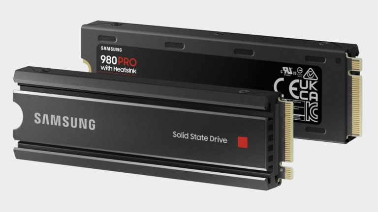 Samsung shows the PS5 some love by slapping a heatsink on the 980 Pro SSD