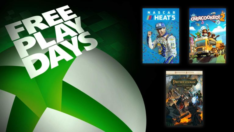 Free Play Days – NASCAR Heat 5, Overcooked! 2, and Pathfinder: Kingmaker – Definitive Edition