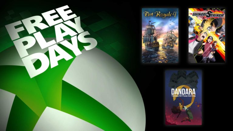 Free Play Days – Port Royale 4, Naruto to Boruto: Shinobi Striker, and Dandara: Trials of Fear Edition