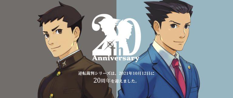 Capcom celebrates Ace Attorney 20th anniversary with a special website
