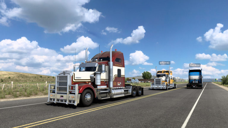 Euro Truck Simulator 2 and ATS are both getting multiplayer mod support
