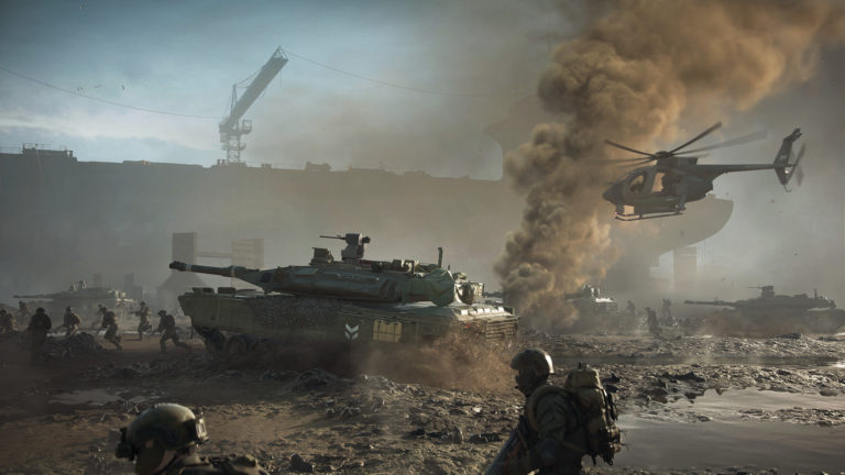 Battlefield 2042's not-yet-'open' beta is already tearing up the Steam charts