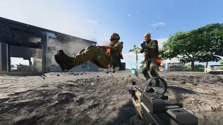 Battlefield 2042's floating corpses bug made me laugh a lot