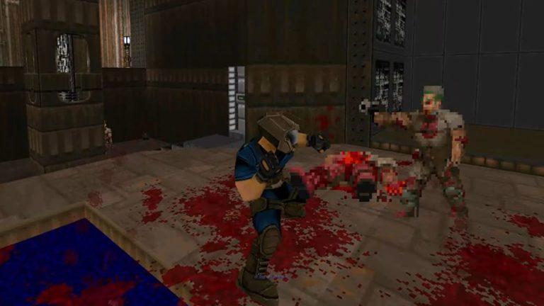 Doom Fighters mod turns Doom II into a brawler