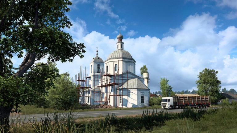 Euro Truck Simulator 2 goes to church