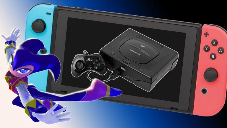 Switch Hackers Exploit Game's Very Fast Sega Saturn Emulator