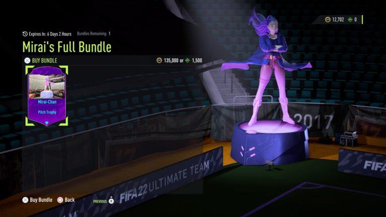 FIFA 22 Ultimate Team sells anime cosmetics now • Eurogamer.net