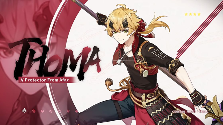 Genshin Impact Thoma build guide – The best Thoma weapon, Artifacts, and more